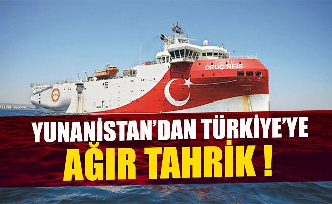 Yunanistan'dan Türkiye'ye ağır tahrik!