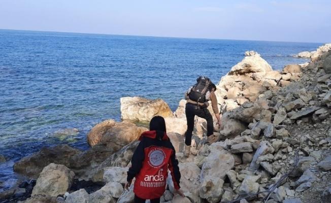 Denizde kaybolan genci arama çalışmalarında 12. gün
