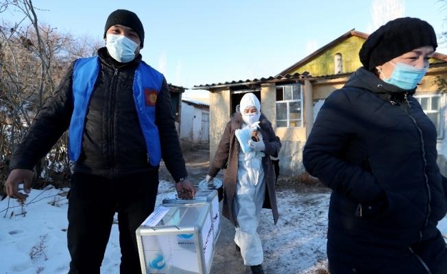 Kırgızistan'da oy verme işlemi sona erdi