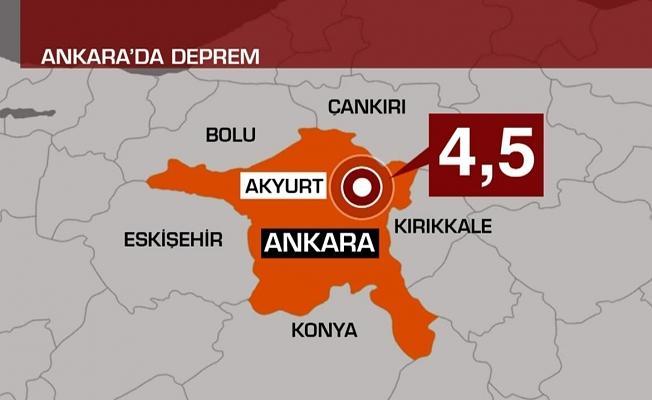Son dakika! Ankara'da korkutan deprem