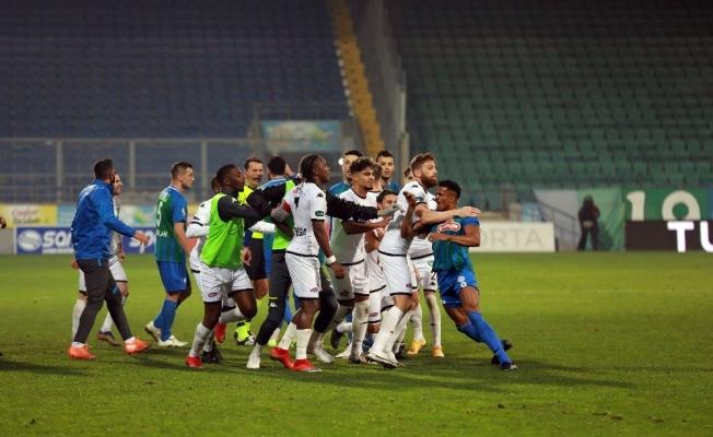 Süper Lig: Ç.Rizespor: 1 - Y.Denizlispor: 1 (Maç sonucu)