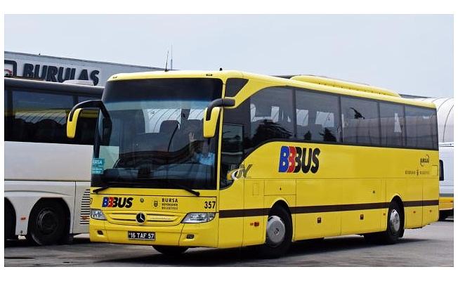 Bursa'dan belediye otobüsüyle İstanbul Havalimanı'na direkt sefer