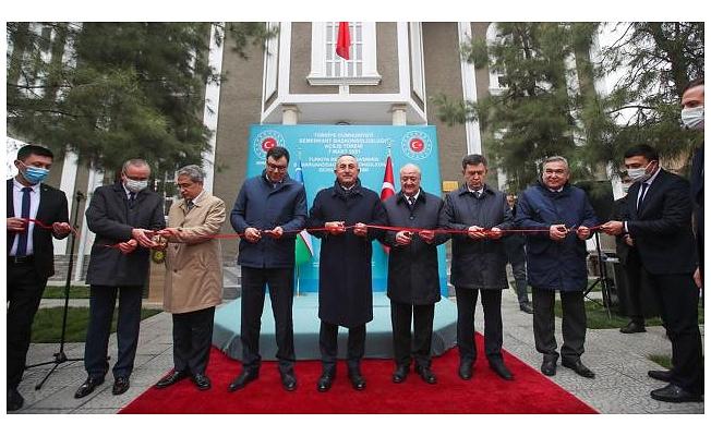 Türkiye'nin Semerkant Başkonsolosluğunun açılışı yapıldı