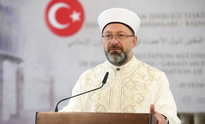 Ali Erbaş, Diyanet'in yeni dijital platformunun açıldığını duyurdu