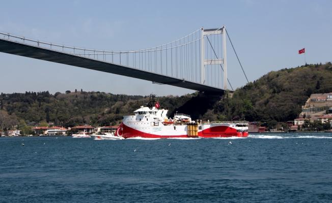 Barbaros Hayrettin Paşa İstanbul Boğazı'ndan geçti