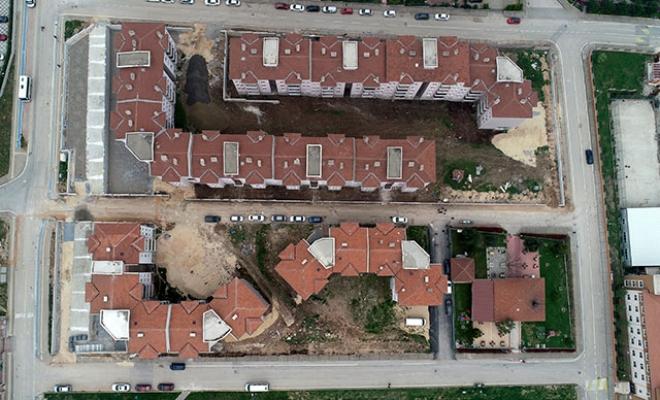 Bursa'da inşaatına 27 yıl önce başlanan site tamamlanamadı!