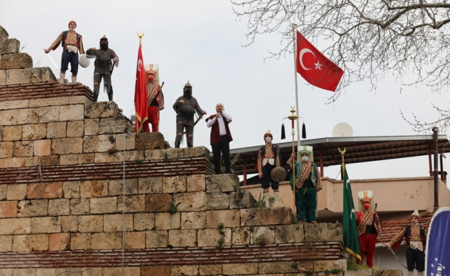 Bursa'nın fethinin 695'inci yıldönümü, kutlandı!