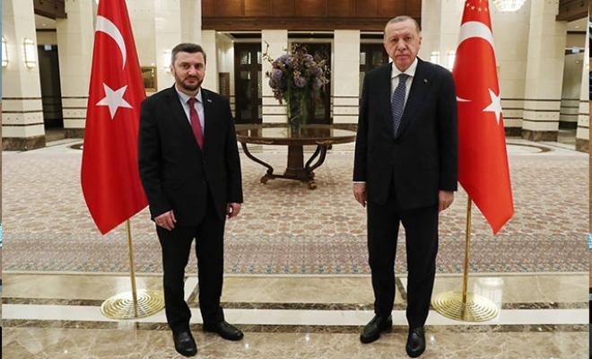 Cumhurbaşkanı Erdoğan, Avrupa'daki Türk STK temsilcilerini kabul etti
