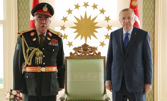 Cumhurbaşkanı Erdoğan, Raşid Dostum'u kabul etti
