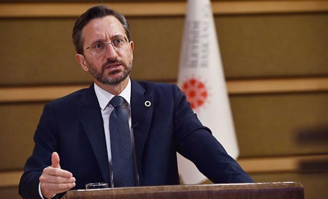 İletişim Başkanı Altun'dan HDP'ye tepki: Sizin tarihiniz, terör örgütünün tarihi