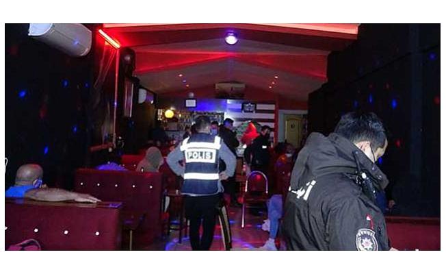 İzmir'de eğlence mekanına koronavirüs baskını: 110 bin lira ceza