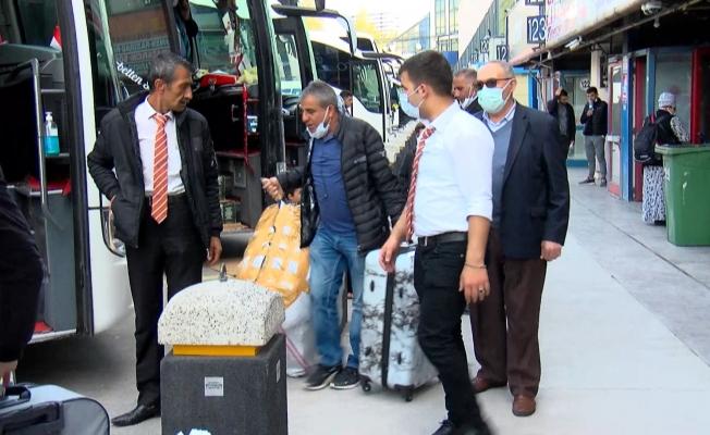 Otogarda bilet satış sistemleri kilitlendi