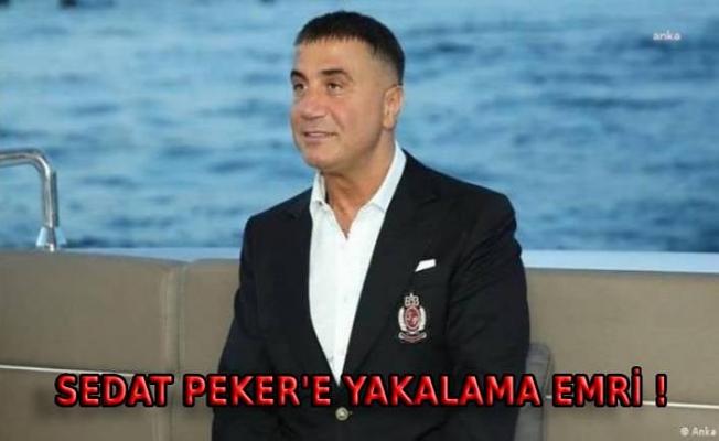 Ankara Cumhuriyet Başsavcılık: Sedat Peker hakkında yakalama emri düzenlendi