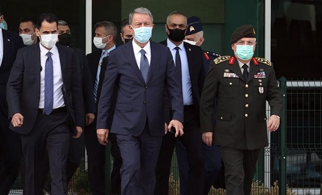 Bakan Akar, Libya'ya gitti