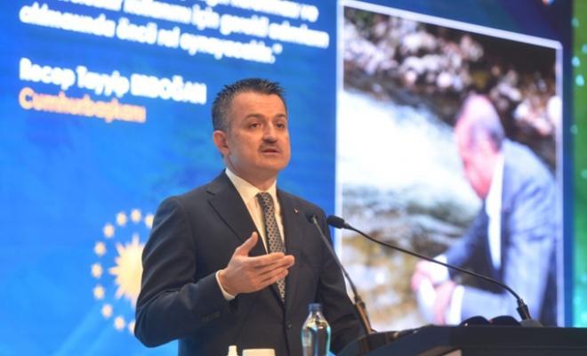 Bakan Pakdemirli: Dünyada biyolojik çeşitlilik azalırken Türkiye'de artıyor