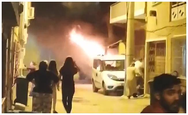 Bursa'da iki kardeşin oturduğu evde çıkan yangında, kundaklama şüphesi