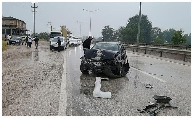 Bursa'da zincirleme kaza
