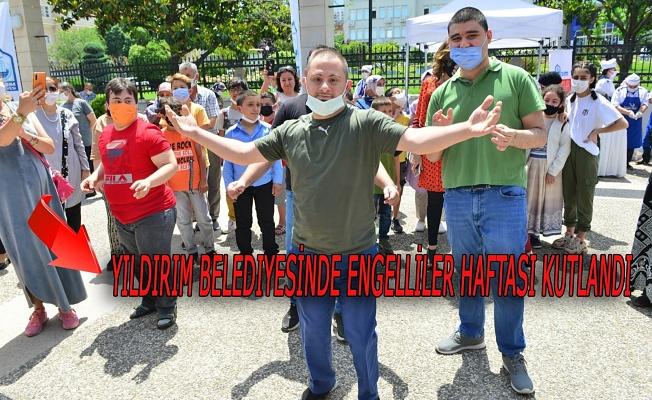 Bursa Yıldırım Belediyesin'de Engelliler Haftası Kutlandı