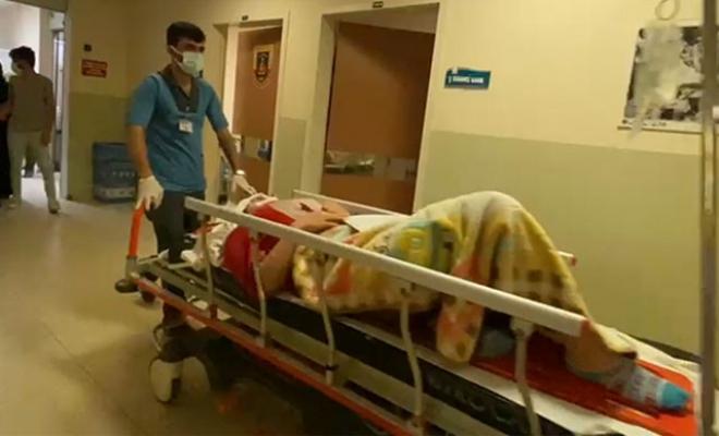 Bursa İnegöl'de telefonla konuşurken pencereden düşen Aslı ağır yaralandı