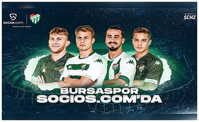 Bursaspor da taraftar token dünyasında