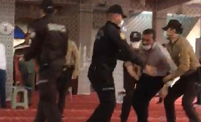 Camide eylem yapan 76 kişi serbest bırakıldı