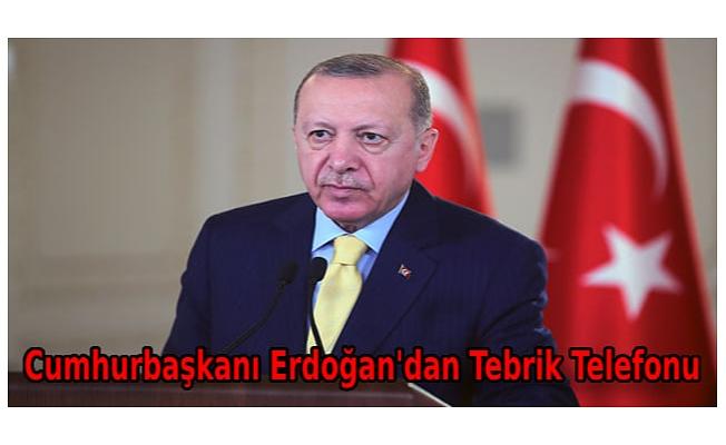 Cumhurbaşkanı Erdoğan'dan dünya şampiyonu Ayşe Begüm Onbaşı'ya tebrik telefonu