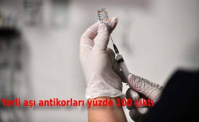 ERÜ Rektörü Çalış'tan 'yerli aşı' açıklaması: Antikorları yüzde 100 çıktı