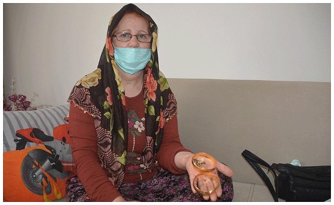 Evinde darbedilip altınları çalınan engelli kadın: Bana çok işkence yaptılar