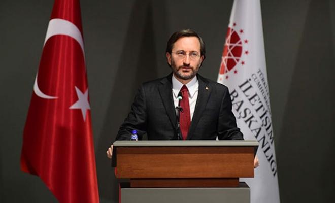Fahrettin Altun: Cumhurbaşkanımız üzerinden milletimizi tehdit ediyorlar