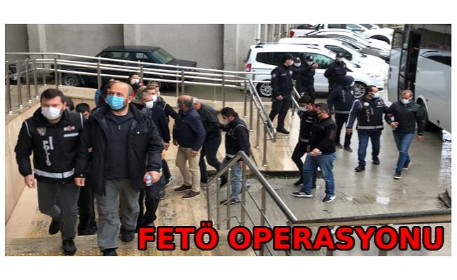FETÖ operasyonunda 14 kişi adliyede