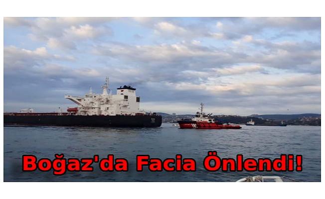 Ham petrol taşıyan tanker kıyıya sürüklendi; İstanbul Boğazı'nda trafik askıya alındı