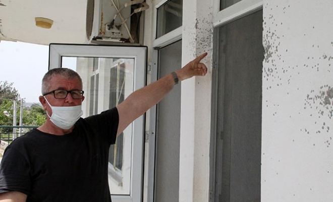 İftar vakti evlerine ateş açılan aile dehşeti yaşadı