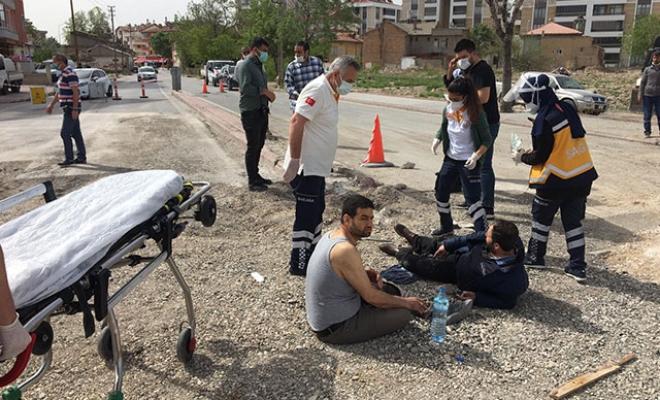 İki grup arasında silahlı, bıçaklı kavga: 1'i ağır 4 yaralı