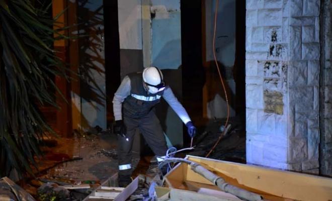 Kablo çaldığı sırada elektrik akımına kapılan şüpheli hayatını kaybetti