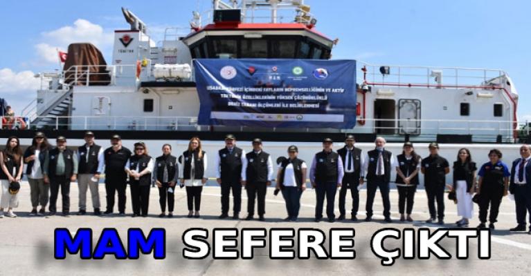 MAM sefere çıktı; Ege Denizi'ndeki deprem riskleri araştırılacak