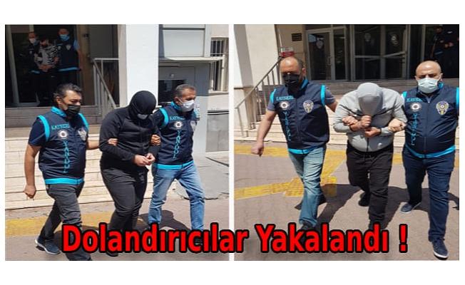 Telefonla aradıkları 371 Hollandalıyı 73 milyon TL dolandıran 3 kişi Kayseri'de yakalandı