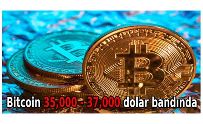 Bitcoin 35,000 - 37,000 dolar bandında