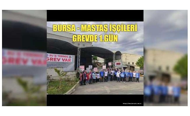 Bursa'daki Radyatör Fabrikası MASTAŞ İşçileri Grevde!