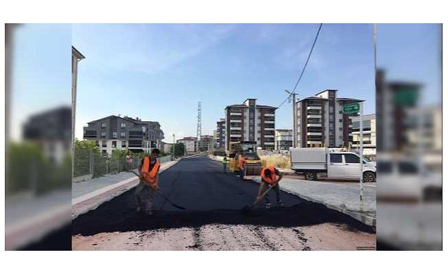 Bursa Osmangazi'de Asfalt Çalışmaları Hız Kesmiyor
