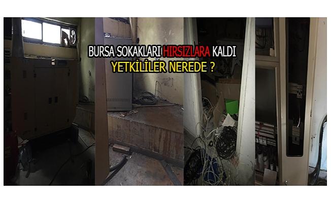 Bursa sokakları hırsızlara teslim!