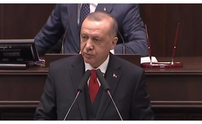 Cumhurbaşkanı Erdoğan, AK Parti Grup Toplantısı'nda konuşuyor