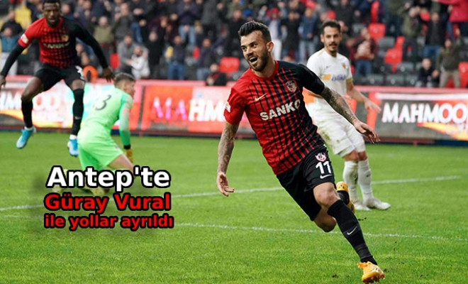 Gaziantep FK'da, Güray Vural ile yollar ayrıldı