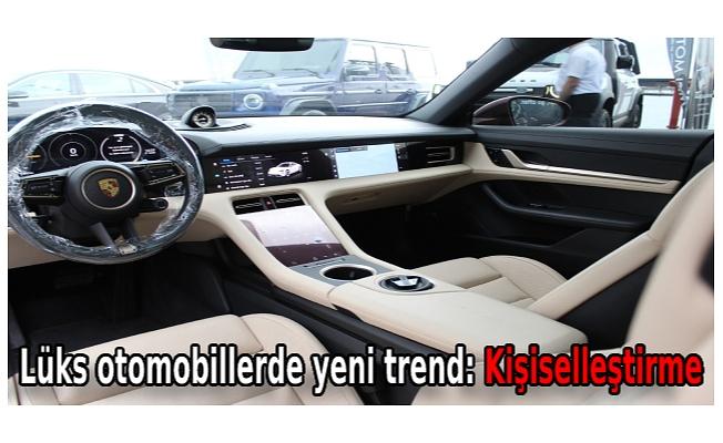 Lüks otomobillerde yeni trend: Kişiselleştirme