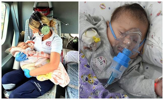 Meliha bebeğin kahramanı konuştu: Anne sıcaklığı ile kucakta tuttum