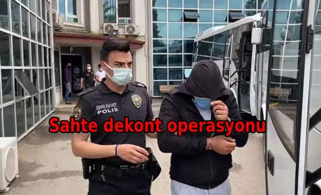 Sahte dekont ve bahis kuponuyla dolandırıcılığa 18 tutuklama
