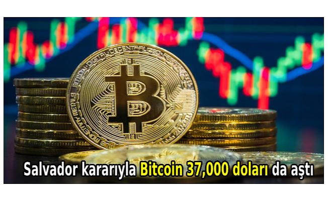 Salvador kararıyla Bitcoin 37,000 doları da aştı
