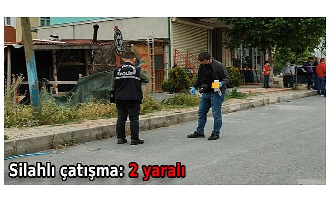 Silahlı çatışma: 2 yaralı
