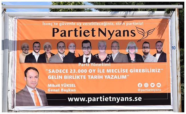 Türk asıllı siyasetçi Mikail Yüksel, İsveç seçimlerine Konya'da hazırlanıyor