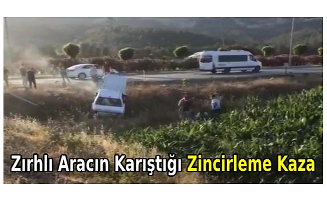 Zırhlı askeri aracın karıştığı zincirleme kazada, baba ve kızı öldü, 5 kişi de yaralandı
