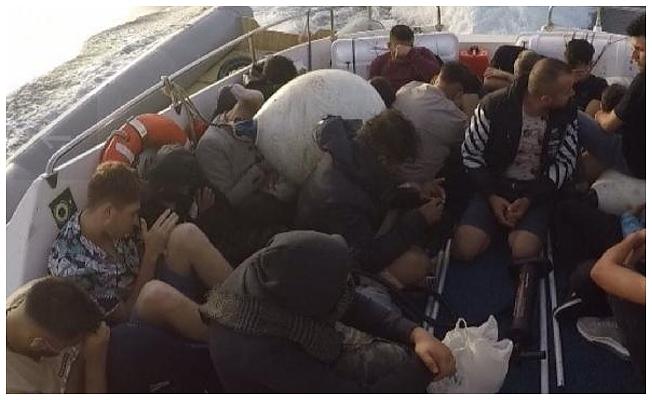 25 göçmen kurtarıldı